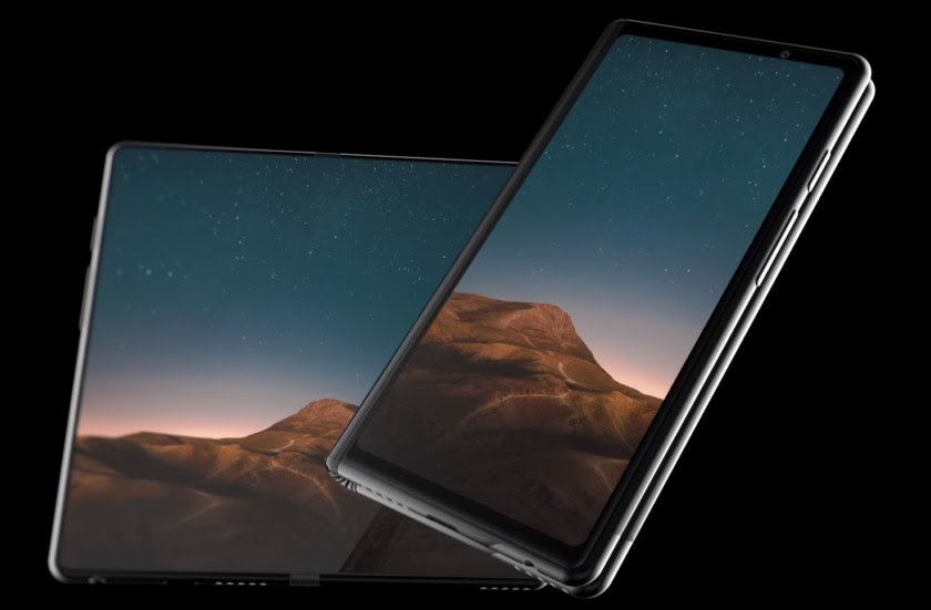 A concept render of the upcoming Samsung Galaxy F.
